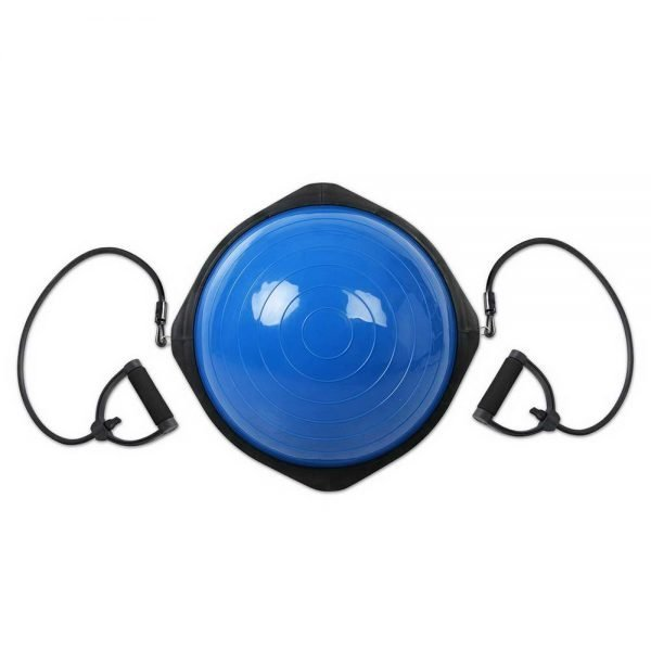 Trainer Ball with Resistance Bands - Blue