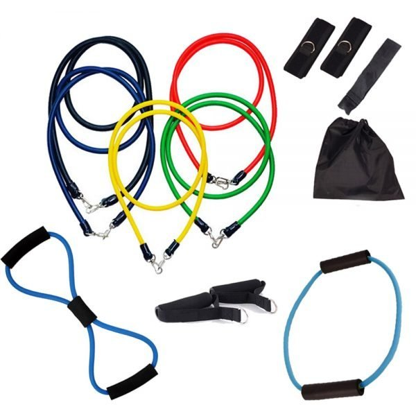 13PCS Heavy Resistance Band Yoga Tension