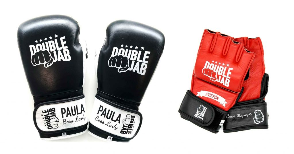 Customized Gloves Double Jab